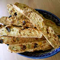 Biscotti with 100% Bread Flour