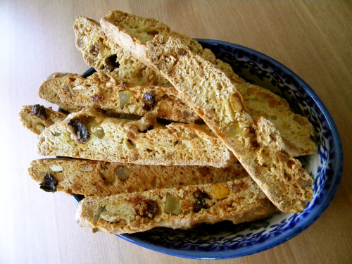Biscotti with 100% Bread Flour