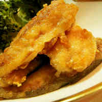 Horse Mackerel Tatsuta-age (Deep Fried)