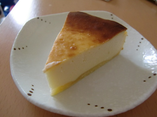 Light Baked Cheesecake in Tart Crust