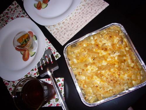Easy Macaroni Gratin with Soy Milk