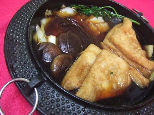 Aburaage Sukiyaki (Buddhist Cuisine)