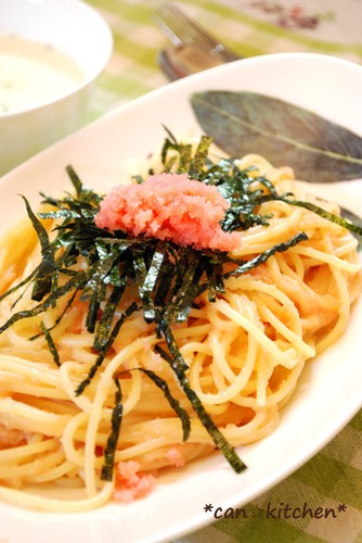 Rich and Delicious Tarako Spaghetti