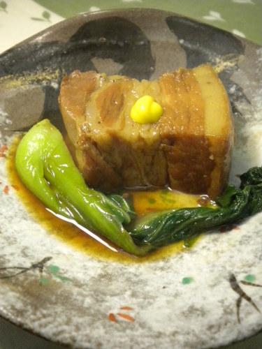 Japanese-Style Stewed Pork Chunks