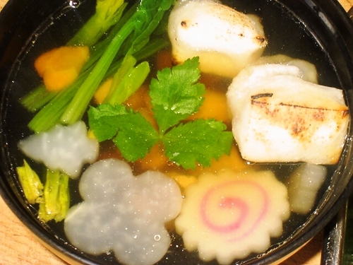 Ozouni with Lots of Dashi