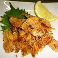 Easy Drinking Appetizer with Chicken Skin