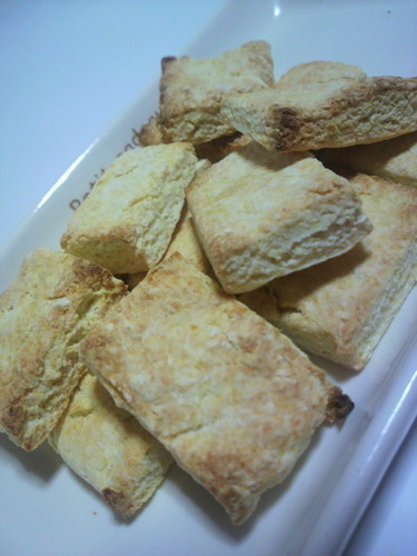 Diet-Friendly Okara Scones