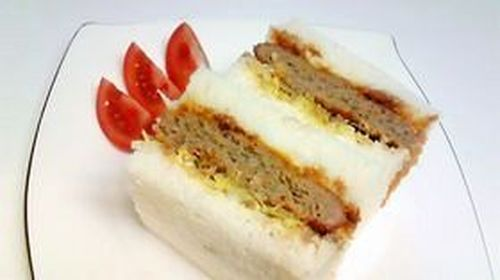 """Non-Fried, Oven-Baked """"Menchi Katsu"""" (Minced Meat Cutlet)"""