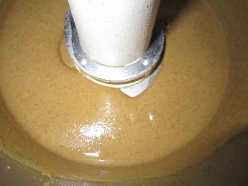 Sesame Paste in a Food Processor