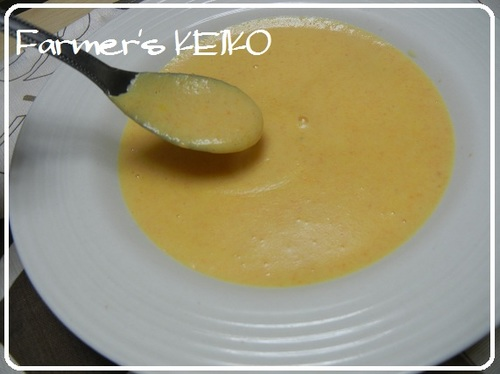 Carrot and Rice Flour Potage