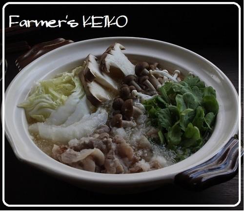 [Farmer's Recipe] Mizore (Grated Daikon) Hot Pot with Pork