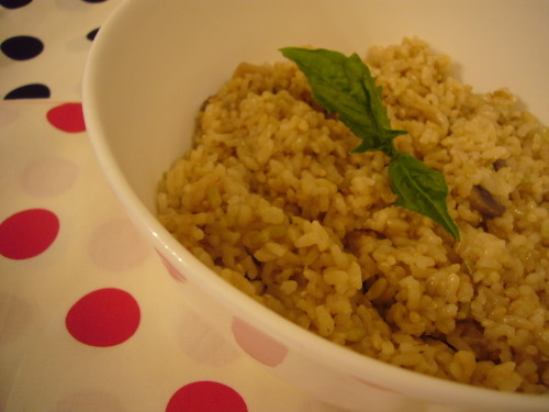 Macrobiotic Brown Rice Pilaf