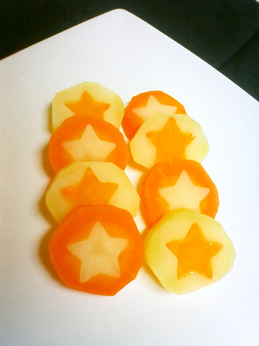 Cute Potatoes & Carrots for Hot Pots or Curries
