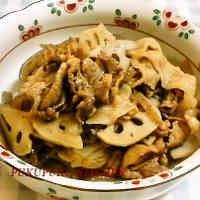 Pork and Lotus Root Shigure Stew