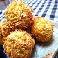 Sweet Potato and Chestnut Fried Balls