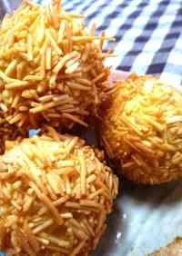 Sweet Potato and Chestnut Fried Balls