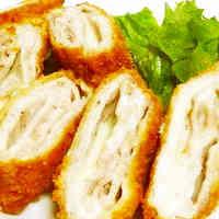 Crispy Pork Loin & Cheese Cutlets