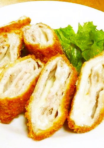 Crispy Pork Loin & Cheese Cutlets