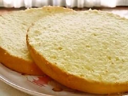 Easy Oil-free Sponge Cake