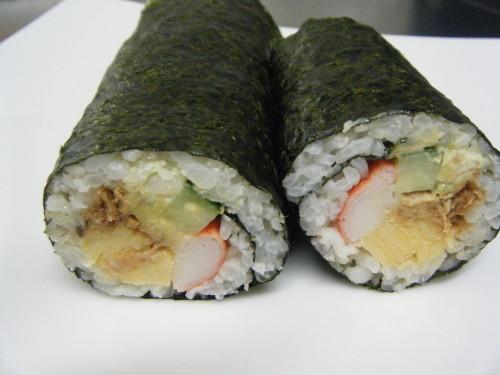 Futomaki! For Ehoumaki: Delicious Salad Sushi Rolls