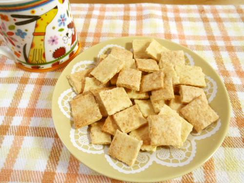 Okara Cookies Made With Pancake Mix