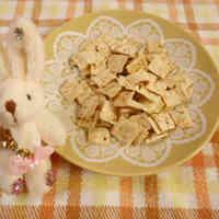 Okara Cookies in a Microwave with Dashida Flavor