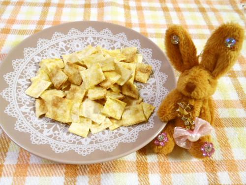Make Corn Soup-Flavored Okara Cookies in the Microwave