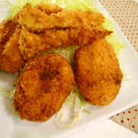 Crab Cream Croquettes Made with Healthy Soy Milk