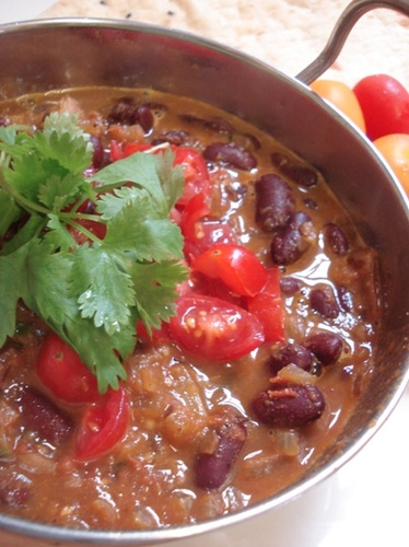 Rajma - Red Kidney Bean Indian Curry