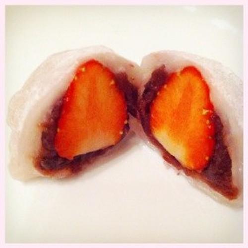 Easy Strawberry Daifuku to Make with Kids