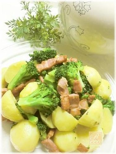 Warm Potato and Broccoli Salad