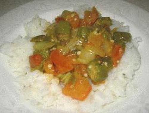 Okra Indian Style