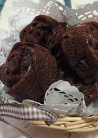 Coffee and Chocolate Financiers