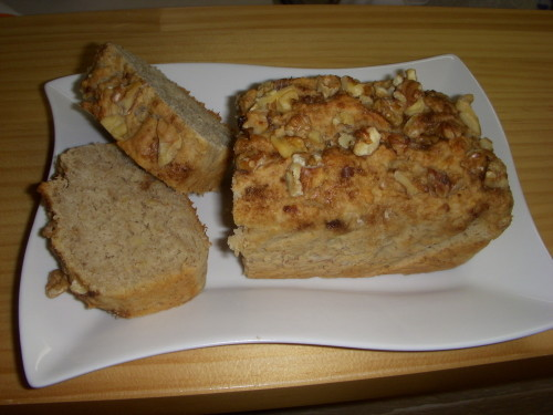 Macrobiotic Banana Bread with Rice Flour