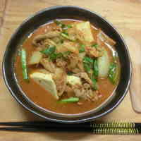 Addictive! Mild Kimchi Jjiage (Korean-style Stew)