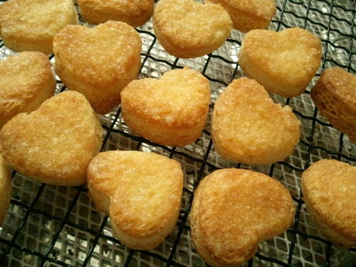 Easy and Cute Heart-shaped Rusks