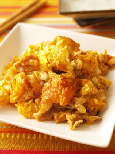 Stamina-Boosting Champuru with Kimchi and Atsuage