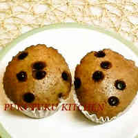 Cocoa Steamed Bread with Pancake Mix in a Frying Pan