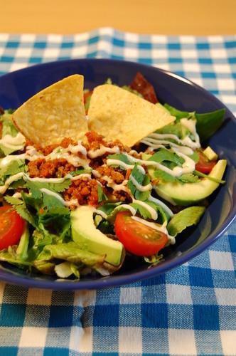 Healthy Veggie Taco Rice