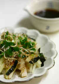Crispy Shirasu and Daikon Salad