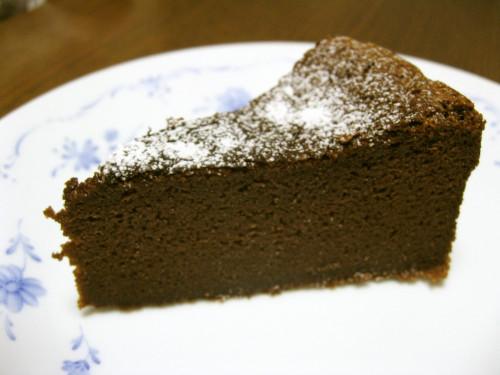 Luscious Gateau au Chocolat