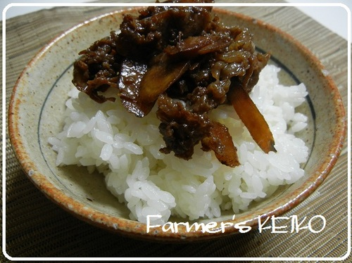 Simmered Beef and Burdock Root (Shigure-ni)
