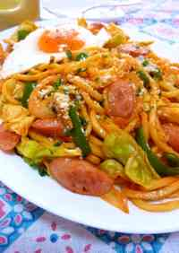 Napolitan-style Yakisoba Noodles