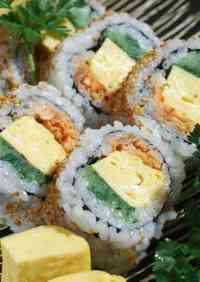 California Roll using Grilled Salmon