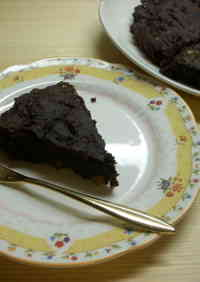 Macrobiotic Rice Flour and Walnut Brownies