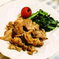 Great for Busy Days! Garlic Pork Soy Sauce Stir-Fry
