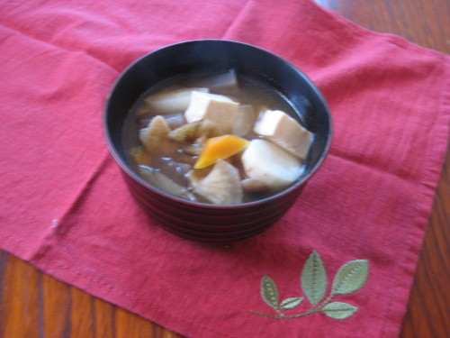 My Mother's Easy Kenchin Soup