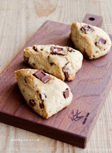 Chocolate Scones Made with Pancake Mix