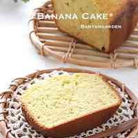 Banana Cake in a Bread Machine