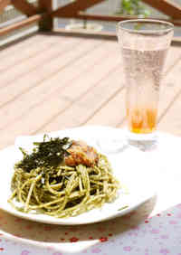 Ume and Shiso Leaf Genovese Pasta